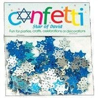 Star Of David Confetti Assorted
