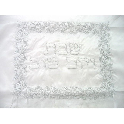Shabbat Tablecloth Flowers
