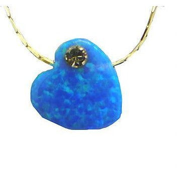 Opal Shape Necklace Large