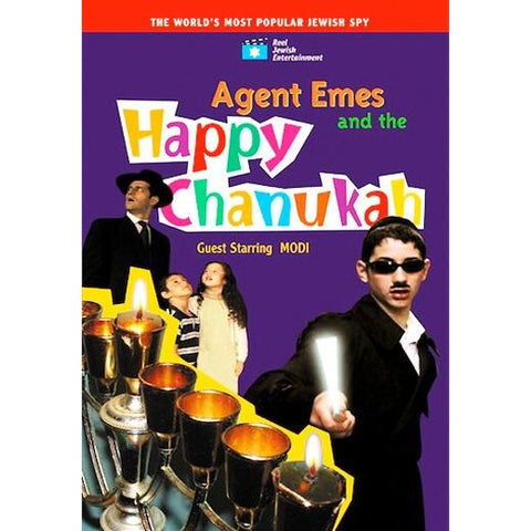 Agent Emes Happy Chanukah DVD