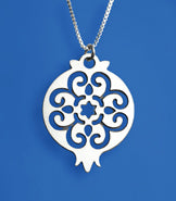 Arabesque Pomegranate Necklace