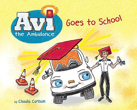 Avi the Ambulance Goes to School