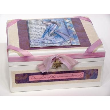Bat Mitzvah Jewelry Box