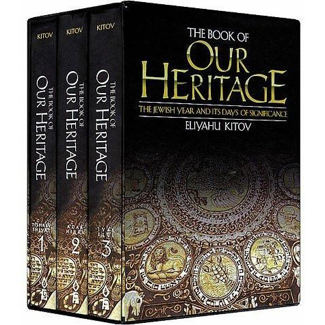 Book Of Our Heritage 3 Volume Set