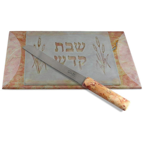 Challah Board with Knife