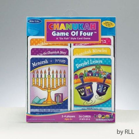 Chanukah Game Of Four