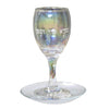 Blue Glass Kiddush Cup Set