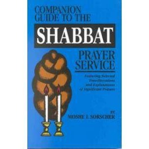 Companion Guide To The Shabbat Prayer Service