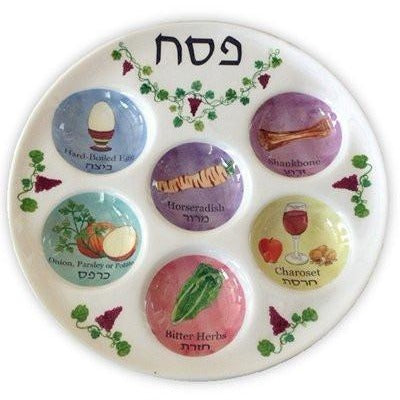 Disposable Seder Plate