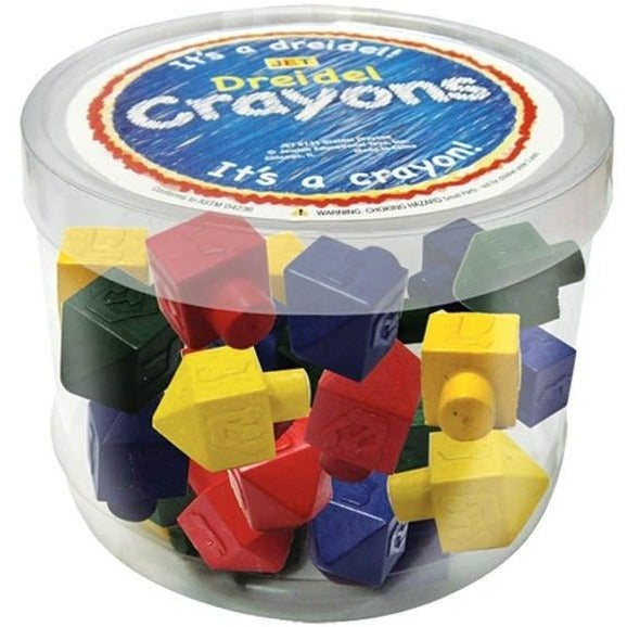 Dreidel Crayons Assorted Colors