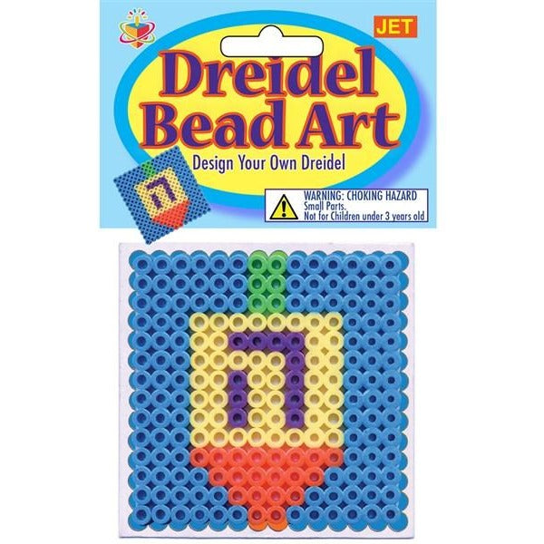 Dreidle Bead Art