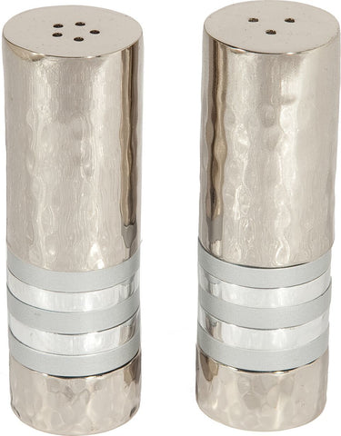 Silver Emanuel Salt and Pepper Shakers