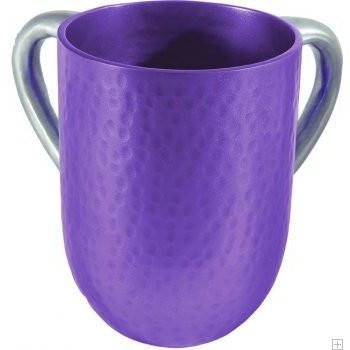Emanuel Hammered Purple Wash Cup