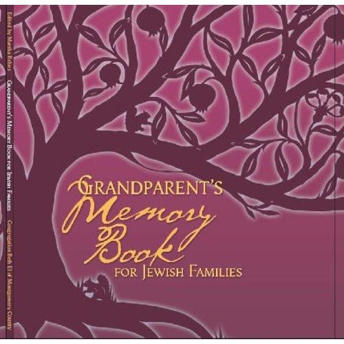 Grandparents Memory Book For Jewish Families