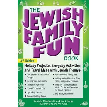 Jewish Family Fun Book