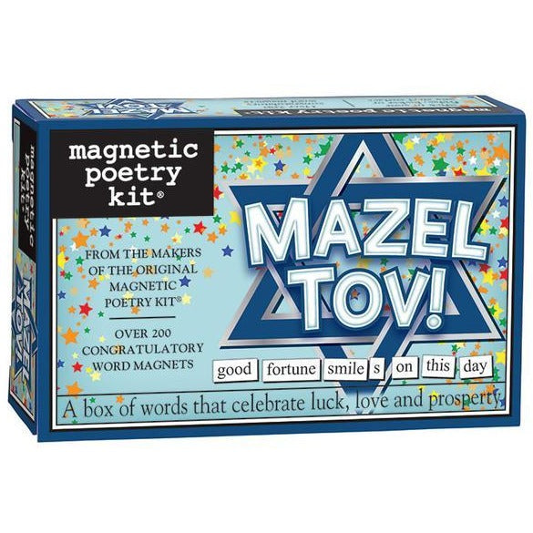 Mazel Tov Magnetic Poetry