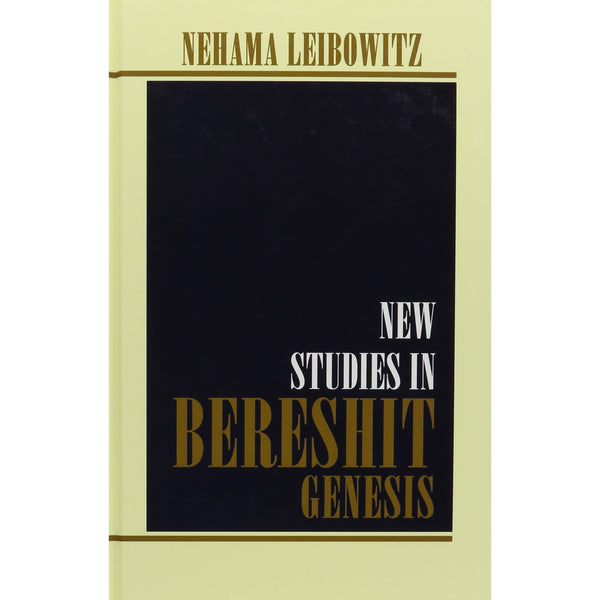 New Studies In Bereshit - Genesis