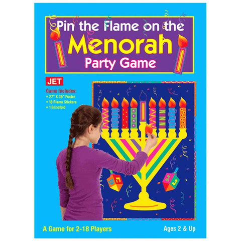 Pin The Flame - Menorah