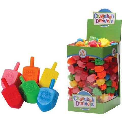 Package of 100 Medium Plastic Dreidels