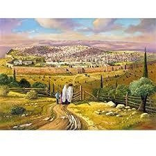 Puzzle- Road to Jerusalem 1000p