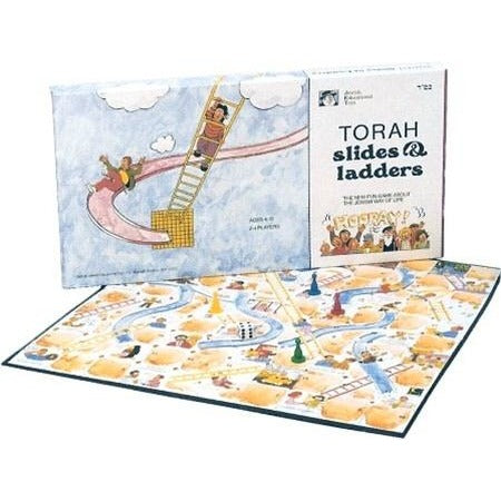 Torah Slides And Ladders Board