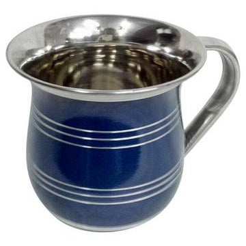Sterling Steel Colored Wash Cup