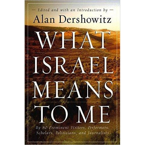 What Israel Means To Me