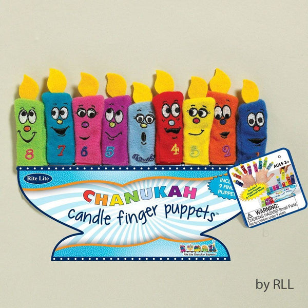 Candle Finger Puppets