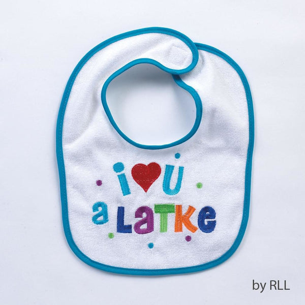 I Love You A Latke Bib