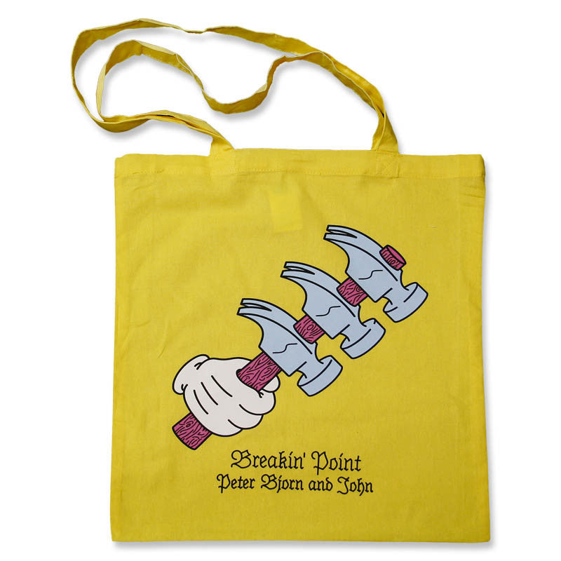 YELLOW BREAKIN POINT TOTE BAG