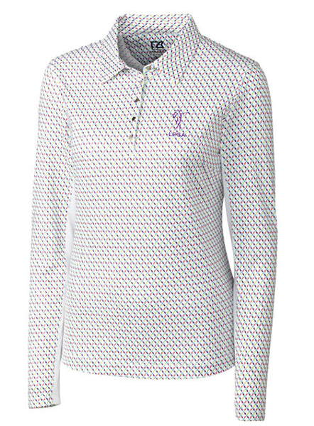 LPGA Performance Longsleeve Polo by Cutter & Buck