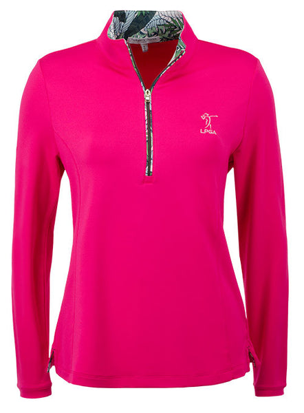 LPGA Performance Half-Zip Pullover by Fairway & Greene