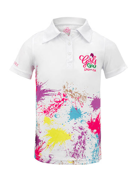 Girls Golf Performance Polo by Kissi Couture