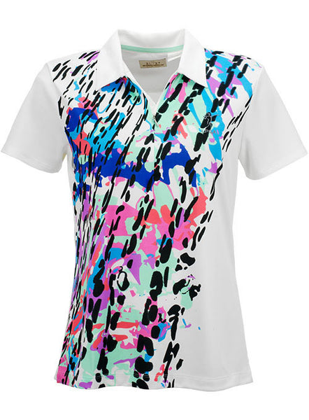Ladies Tour Tech® Color Print Performance Polo by EP Pro