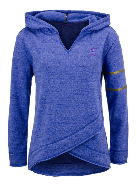 Ladies Space Dye Performance Hooded Fleece by EP Pro