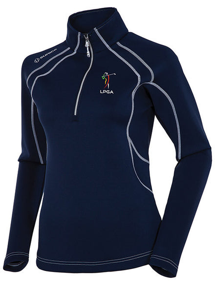Ladies Half-Zip Pullover by Sunice