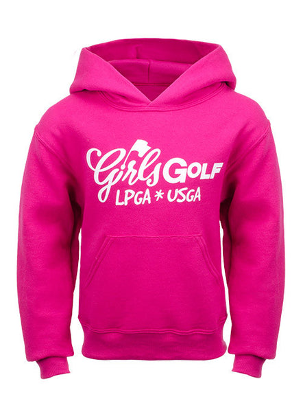 Girls Golf Hooded Sweatshirt