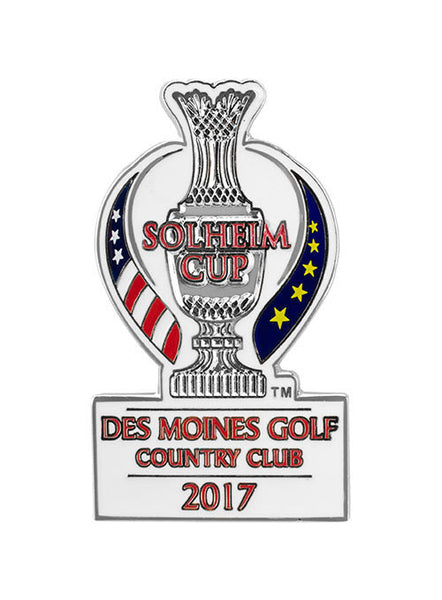 2017 Solheim Cup Hat Pin