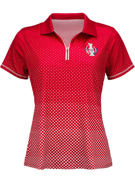 2017 Solheim Cup Friday Player Polo by Antigua