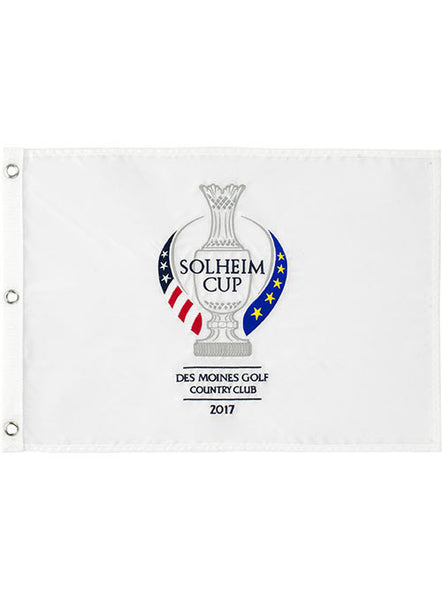 2017 Solheim Cup Flag by Tournament Solutions