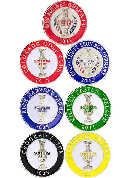 2017 Solheim Cup 7-Piece Legacy Ball Marker Set