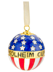 Solheim Cup Ornament by Kitty Keller