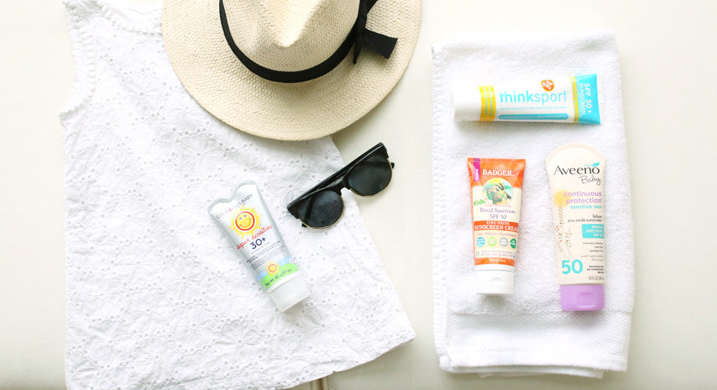 Our Favorite Natural Sunscreens for Kids