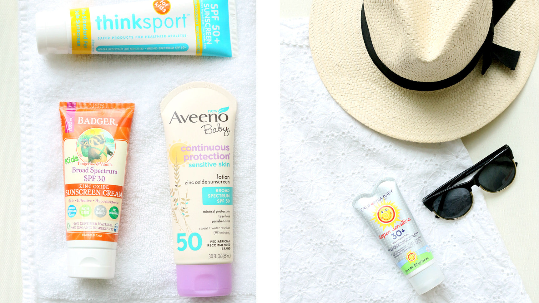Best Natural Sunscreens for Kids