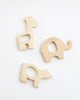 Wood Giraffe Teether