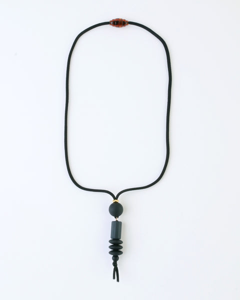 Keepsake Necklace — Charcoal