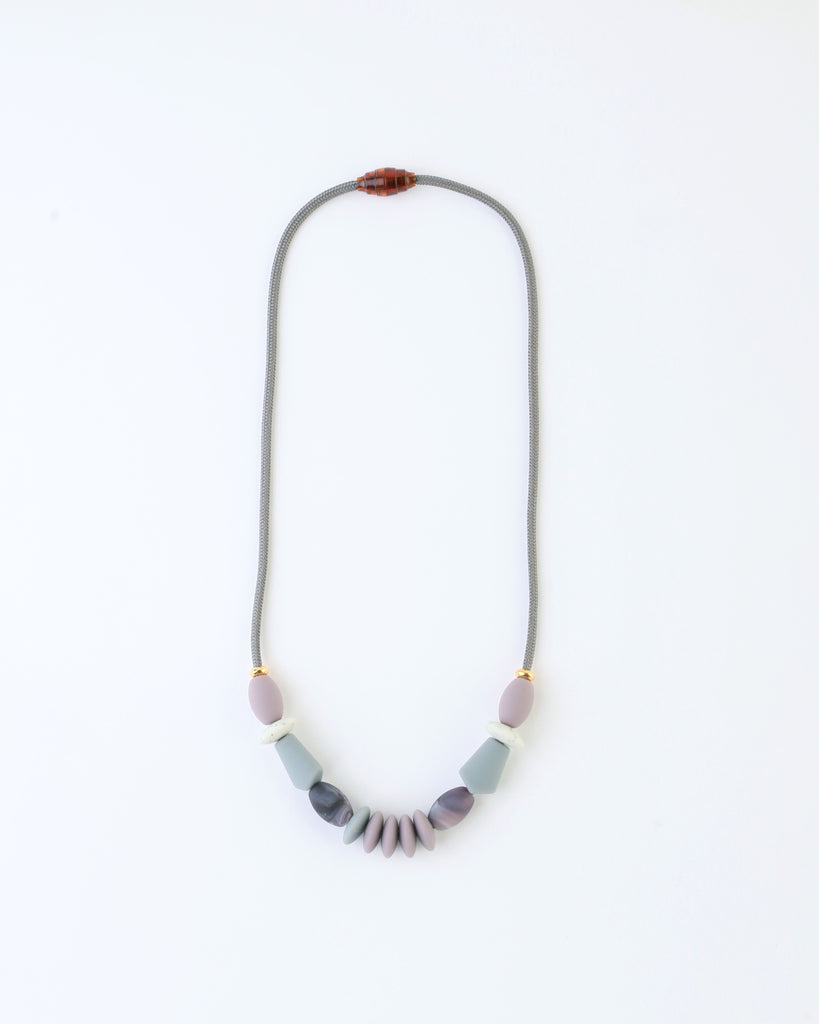 Signature Necklace — Pewter