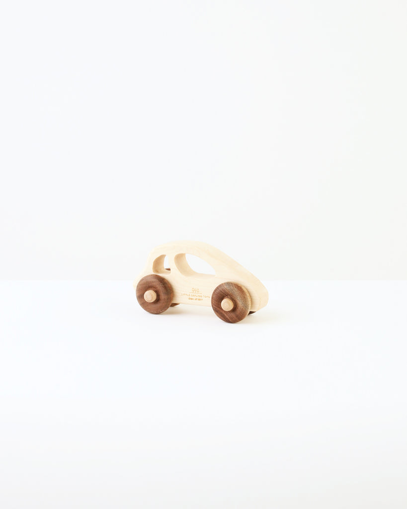 wood buggy car with wheels