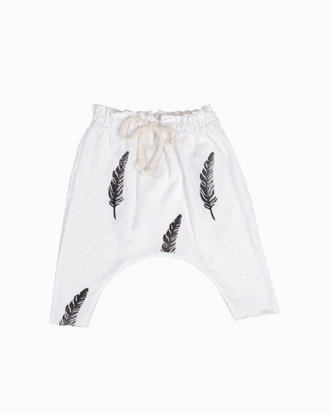 Feather Harem Pant