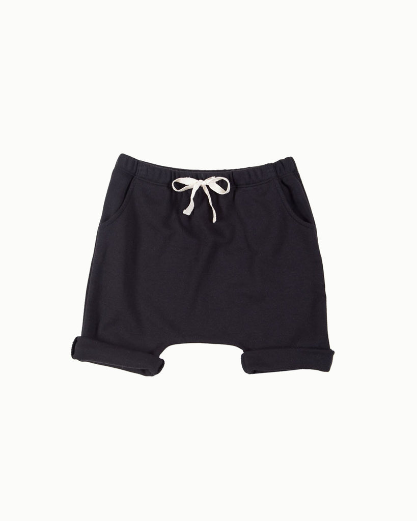 Harem Shorts in Black